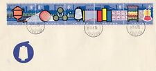 Stamps China 1978 Chemical Fabrics strip of 5 on FDC with Peking postmark