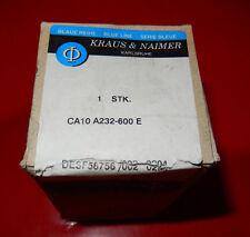 Steuerschalter CA10 A232-600E KRAUS NAIMER