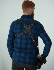 ONE CAMERA HARNESS STRAP LEATHER SHOULDER STRAP