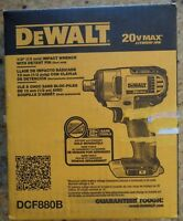 "Dewalt DCF880B 1/2"" Impact Wrench With Detent Pin (Tool Only)"