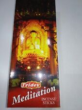 Tridev Meditation Sandal Base Incense Sticks Agarbatti (6 packets of 20GM EACH)