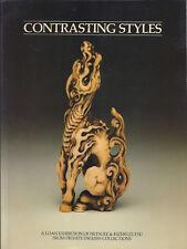 Exhibition Catalog CONTRASTING STYLES Netsuke Kizeruzutsu English Collections 80