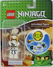 Lego NINJAGO Spinjitzu Masters ZANE Figure Weapon Clip-on Battle Sound Green NEW