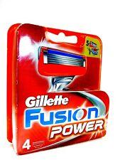 4 Gillette Fusion Power Rasierklingen in Originalverp. Original proglide nutzbar