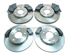 VAUXHALL ASTRA H MK5 FRONT & REAR BRAKE DISCS AND PADS SET NEW 5STUD 2004-2009