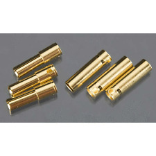 Castle Creations 4mm High Current Bullet Connector Set 095-0007-00