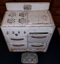 Vintage Collectible Toy Pretty Maid Play Stove Oven