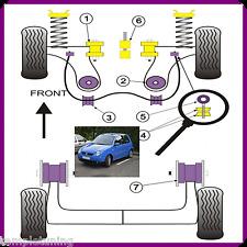 VW Lupo 6E & 6X Powerflex Bush Kit [inc. Lower Engine Mount & Camber Bolts]