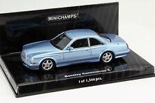 Bentley Continental T Baujahr 1996 blau 1:43 Minichamps