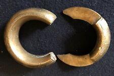 Bracelet bronze esclave Touareg Afrique Bijoux Esclavagisme ..