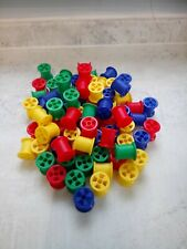 Educational Counting Sorting Plastic Colourful Cotton Reels