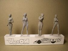 4  FIGURINES 1/43  SET 426  GRACE  ET  VOLUPTE  VROOM  NO  NOREV  MINICHAMPS