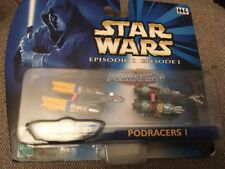 Hasbro MicroMachines Star Wars Episode I Podracers I BNIB.                (0992)