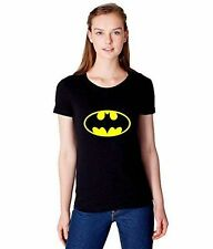 Batman T-shirt Round Neck Royal Black (Size L)