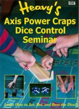 Heavy's Axis Power Craps Seminar - Craps Dice Control Dvd w/ Audio & Data Cds