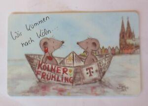 Telefonkarten, Maus, Wir kommen nach Köln, Bärbel,   1997   ♥ (39036)