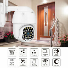 1080P Wireless Outdoor Waterproof IP Camera HD PTZ WiFi Security Surveillance