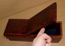 Console Box for Mercedes W116  Burl Wood  KLAPPDECKEL