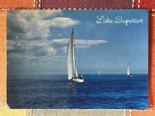 Sailboats on Lake Superior