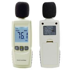New 30-130dBA Audio Digital Sound Noise Voice Level Decibel Meter LCD Tester