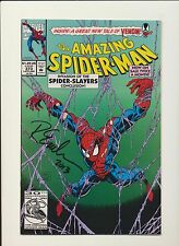 Amazing Spider-Man #373! Signed (Signature) Randy Emberlin! SEE PICS! WOW! KEY!