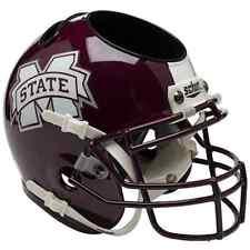 MISSISSIPPI STATE BULLDOGS NCAA Schutt Mini Football Helmet DESK CADDY