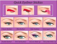 80 pcs Quick Eyeliner Stickies PERFECT CAT Makeup Stencil Cosmetics ORIGINAL US1