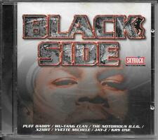 CD COMPIL 17 TITRES--BLACK SIDE--PUFF DADDY/NOTORIOUS BIG/XZIBIT/JAY Z/KRS ONE