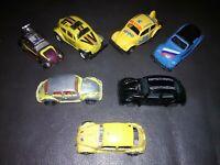 LOT OF 7 RARE Vintage 1970s-1980s *Volkswagen VW Beetle* Bugs Diecast + more