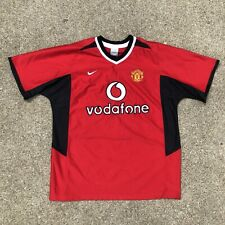 Nike Manchester United Vodafone Red Jersey size XL