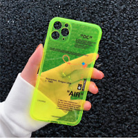 iPhone 12 11 Pro Max 6 7 8 Plus X XS XR Off Sports brand phone case
