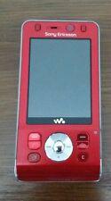 Sony Ericsson W910i Walkman -  red (Unlocked) Mobile Phone