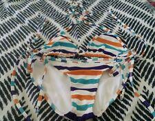 KOOKAI Bikini Stripped Triangle Togs Bathers Swimmers Size 1