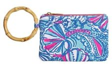 Lilly Pulitzer for Target Wristlet - My Fans (Blue) Free Shipping