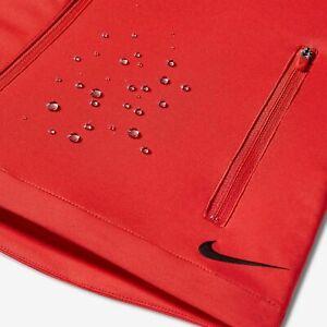 SZ SMALL 🔥 COOL 🆕 Women's Nike Shield Wind Golf Tennis Vest Red 726156-696 $80