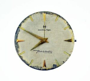 Hamilton Thinomatic Cal 663 Micro Rotor 17 Jewel Automatic Watch Movement WORKS