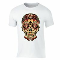 Sugar Skull Day of the Dead T-shirt Diamond Mexican Gothic Dia Los Muertos shirt