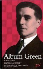 RARE EO BIBLIOGRAPHIE + JEAN-ÉRIC GREEN : ALBUM PLEÏADE JULIEN GREEN