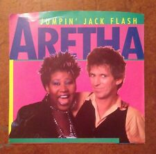 "Aretha Franklin Jumpin' Jack Flash 7"" 45 RPM Vinyl Keith Richards"