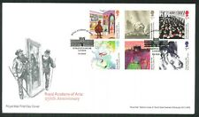 2018 FDC - Royal Academy of Arts 250th Ann.- Burlington Gardens,Pictorial Pmk