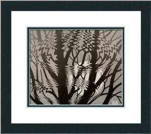 M.C. Escher - Ripple surface Custom Gallery Framed Print