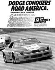 1988 Dodge Daytona IMSA Firestone Race - Classic Advertisement Print Ad