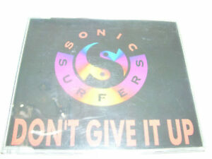 SONIC SURFERS - DON'T GIVE IT UP 5tr CD MAXI DUTCH 1994