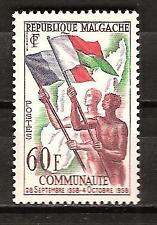 Malagasy # 305 Mlh French Community