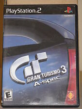 Gran Turismo 3 A-Spec game for PlayStation 2 Sony PS2 in Original Case