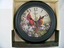 "Country Music 10"" Cardinal Wall Clock Reflective Art"