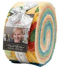 "Moda, Solana, Jelly Roll, 2.5"" Fabric Quilting Strips, 48680JR"