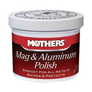 Mothers 5oz / 147ml Tub Mag And Aluminium (Alloy) / Metal Polish