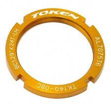 gobike88 TOKEN TK-140 Lock Ring for Track Sprocket, Gold, C49
