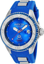 Invicta Men's Pro Diver Automatic Stainless Steel Blue Silicone Watch 25254
